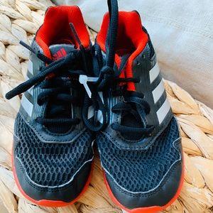 Boys Adidas Running Shoes: Size 1Y